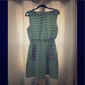 Speed Control Patterned Dress